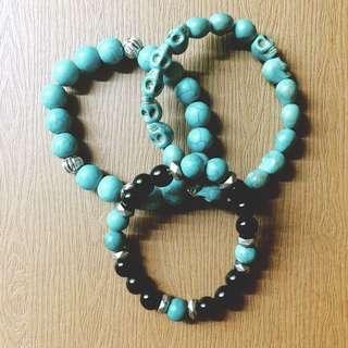 土耳其藍系列串珠手鍊