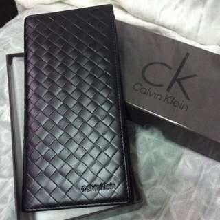CK真皮長夾/黑/有盒有提袋/不換物🙅🏻🙅🏻🙅🏻