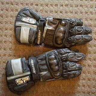 Motor Bike Gloves Size Medium