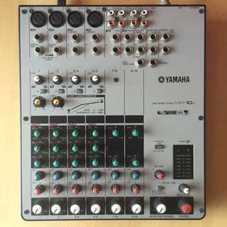 Yamaha MW10C 10-Channel USB Mixer with Compression