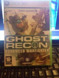Ghost Recon: Advance Warfighter XBOX 360 Game