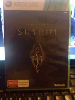 Skyrim XBOX 360 Game