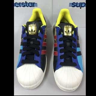 Adidas Superstar Oddity Pack [S82757] Original Casual Blue/Black Camo