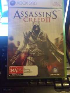 Assassins Creed II XBOX 360 Game