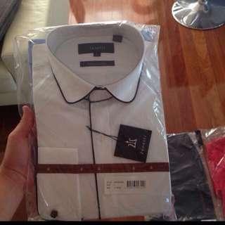 Free Zenetti 2pack Dress Shirts L