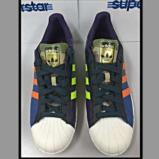 Adidas Original Superstar Oddity Pack Multi Colour Mens Shoes Sneakers S82758