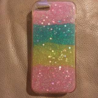 Rainbow Sparkle iPhone 5 Case