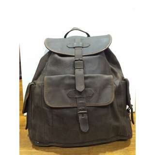 Full Authentic Leather Bag Pack