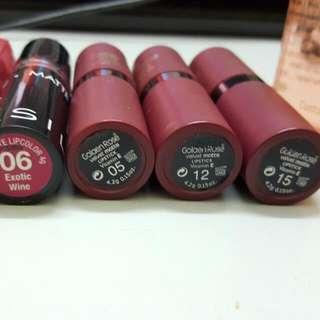 Rm10 Each Golden Rose Matte Lipstick