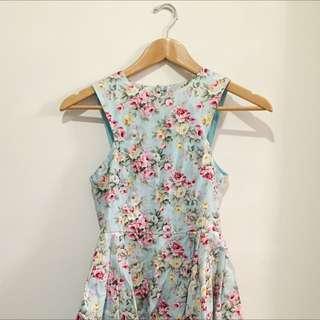 Paper Hearts Floral Dress