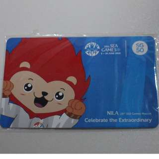28th Sea Games Ezlink Card for sale