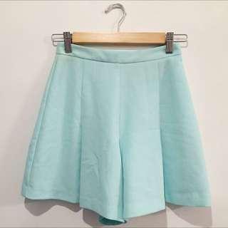 FOREVER NEW loose mint skort (shorts, skirt)