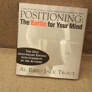 Positioning: The Battle Of The Mind