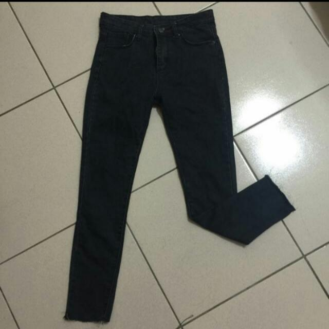 黑色素褲(含運)