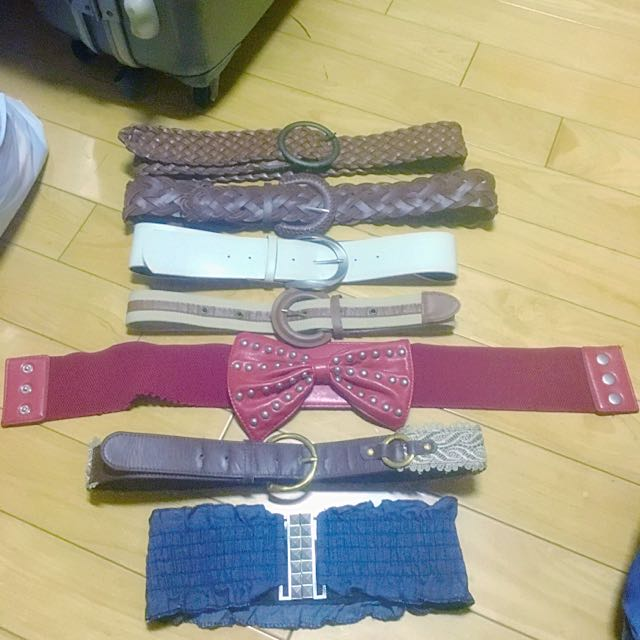 (降價💰)各種皮帶、腰帶