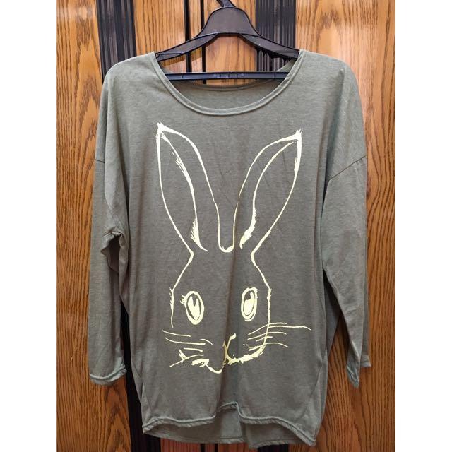 [全新]兔子薄長袖