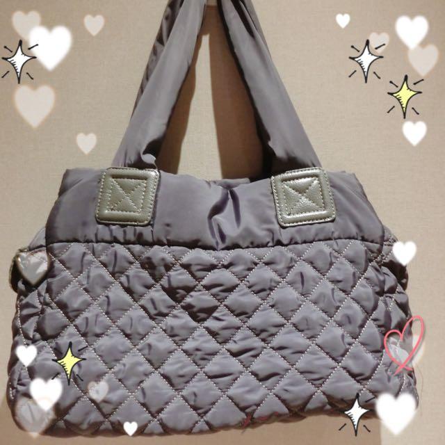 含運🔺韓國灰色購物袋、媽媽包(很輕)