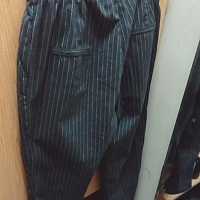 條紋!老爺褲