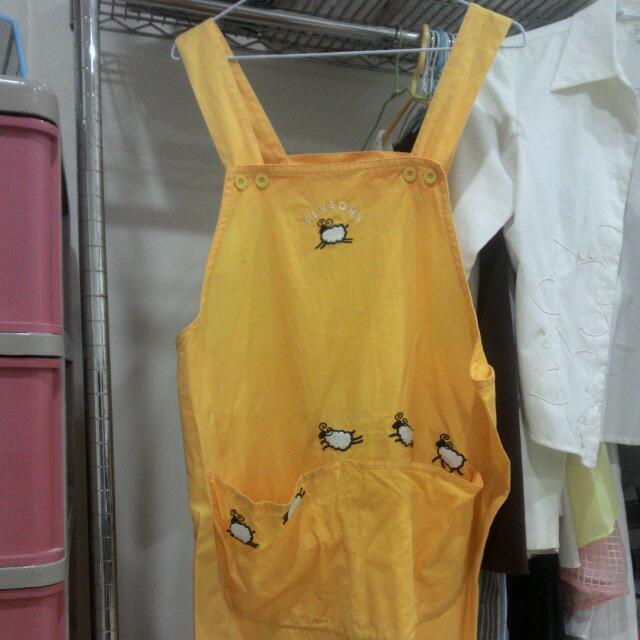 日本進口 綿羊圍裙