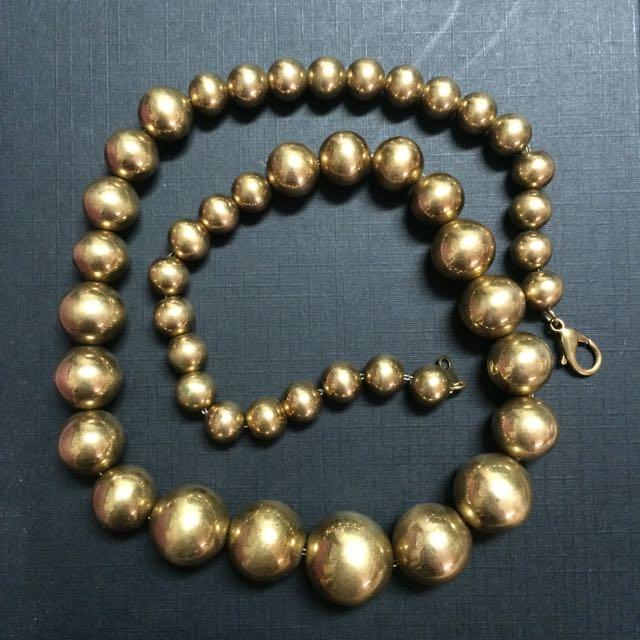 (古著)金色項鍊 手鍊 男女款 現貨 古飾洋行