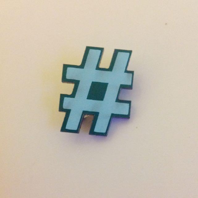 # Hashtag Pin