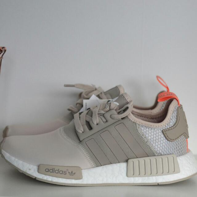 2d69e14f6eed US6.5 Adidas NMD WMNS Clear Brown Sun Glow Cream