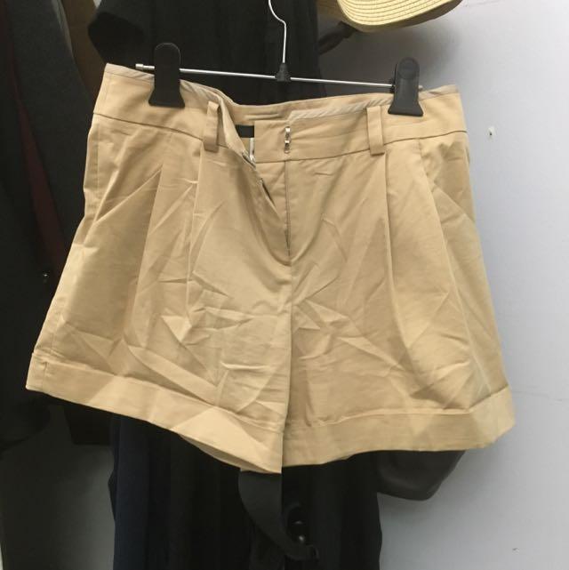 Beige Shorts
