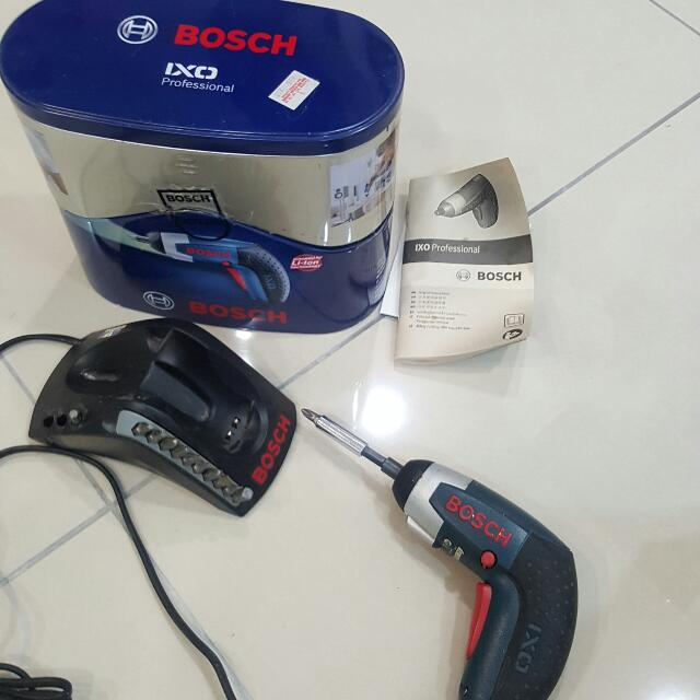 Bosch IXO professional Cordless Screwdriver