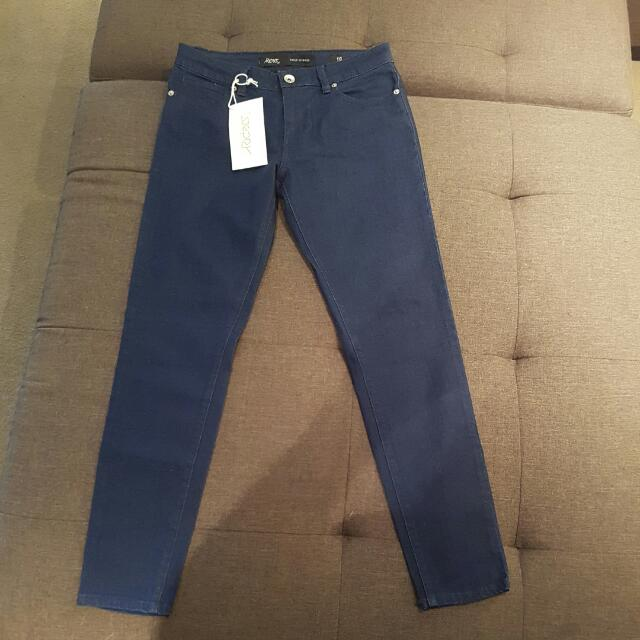 Brand New With Tags Riders By Lee Ankle Skimmer Size 10 Jeans