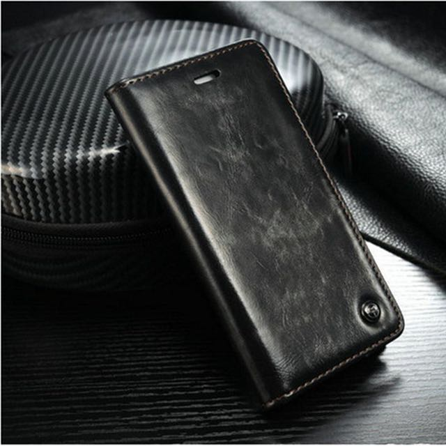 CaseMe iPhone 6/6s/6 Plus/6s Plus Premium Quality Luxury Leather Wallet Case