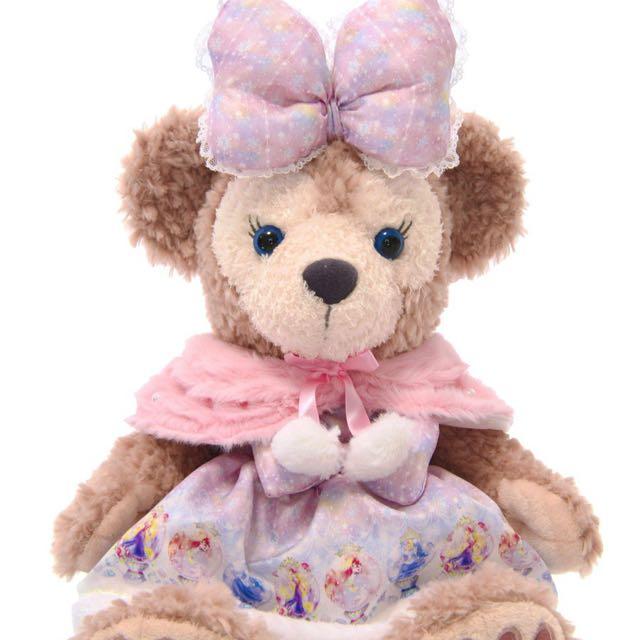 ️Disney 大學熊Unibearsity公主裝 S號Shelliemay可穿-達菲&雪莉梅
