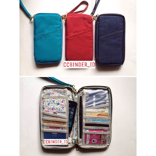Dompet Passport / Traveller Wallet