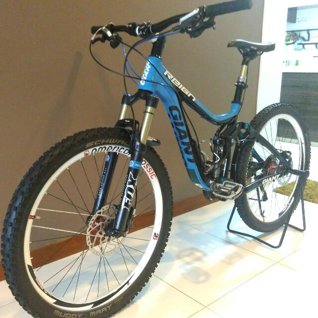 7e3f464fbe0 Giant Reign 1 2013 (MTB), Sports on Carousell
