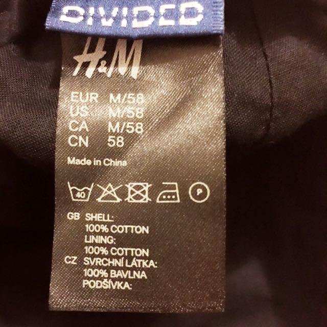 H&M黑色帽子