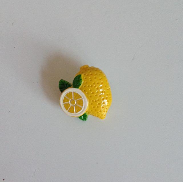 Lemon Acrylic Pin