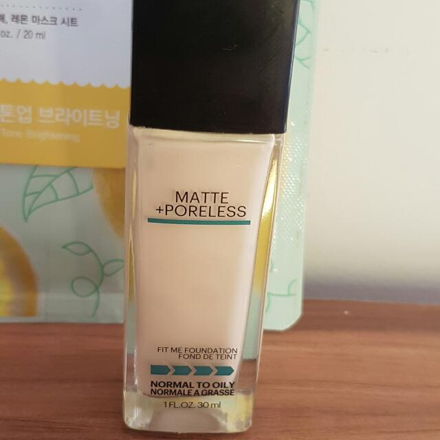 MAYBELLINE FIT ME FOUNDATION BRAND NEW