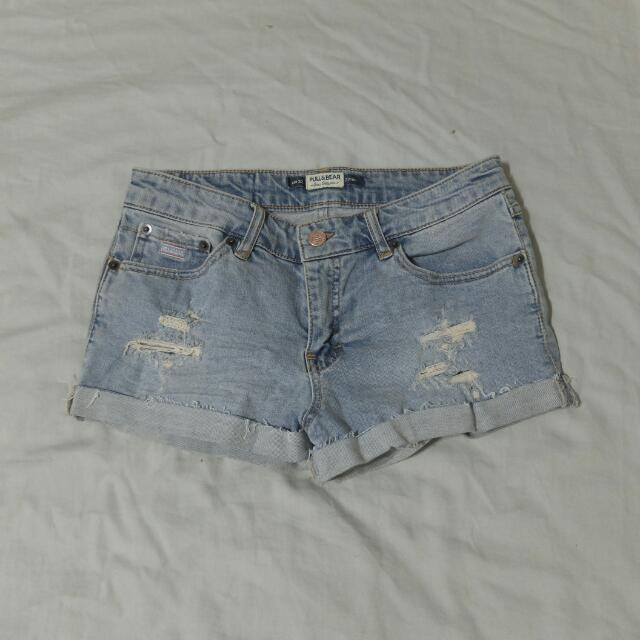 ⚡PULL&BEAR牛仔短褲