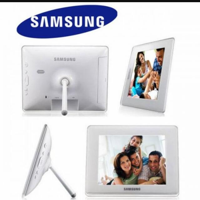 Samsung Digital Photo Frame Electronics On Carousell