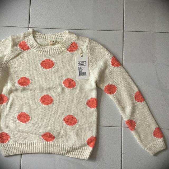 Seed Kids Sweater