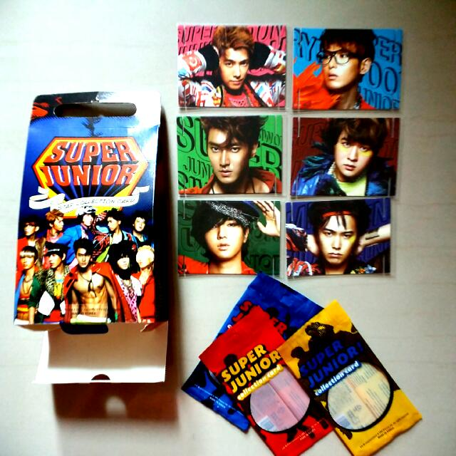 (絕版低價出清)Super Junior Star Collection Card 套卡 特卡 特別版 書籤特別版 編號60 61 62 66 67 68 一起售只要250 單買60一張 厲旭 利特 強仁 圭賢 東海 銀赫 神童 晟敏 始源 希澈 藝聲 Henry 周覓 (正版)