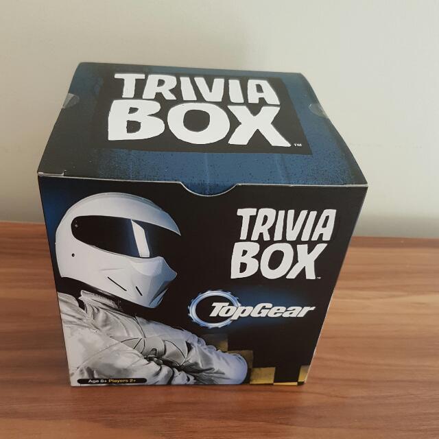 Top Gear Trivia Box