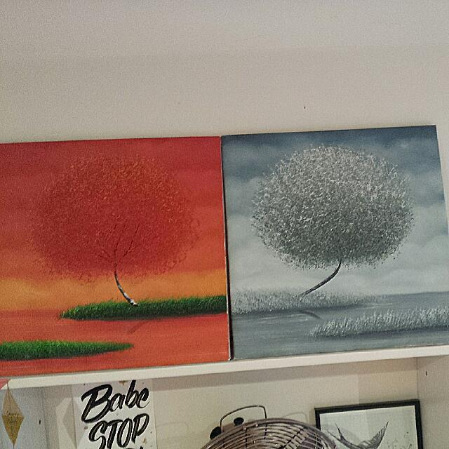 Two Canvas Prints