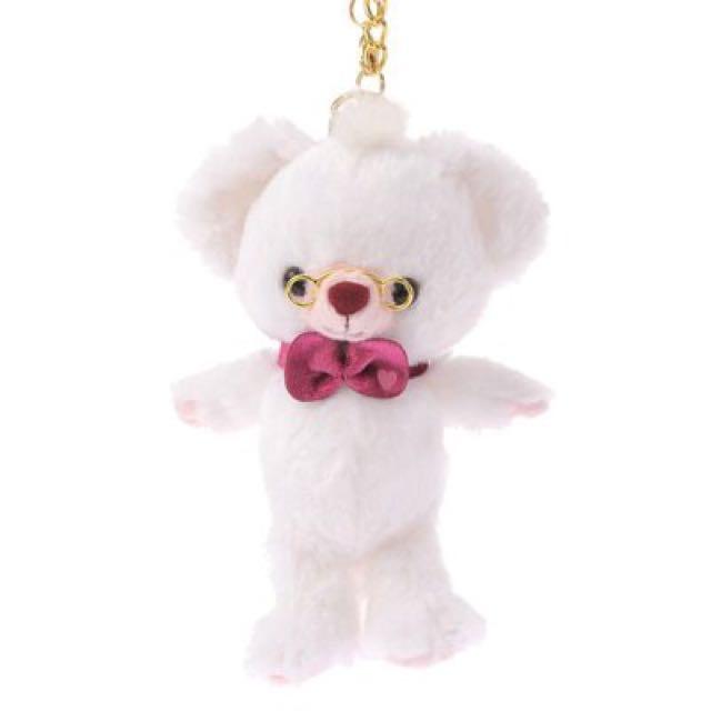 換物 大學熊Unibearsity四月時間兔牛奶金鍊吊飾
