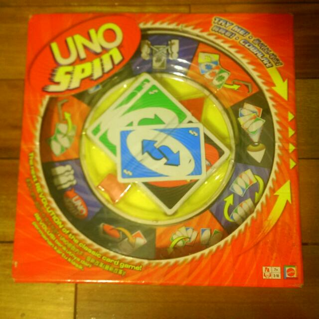 UNO SPIN 桌遊