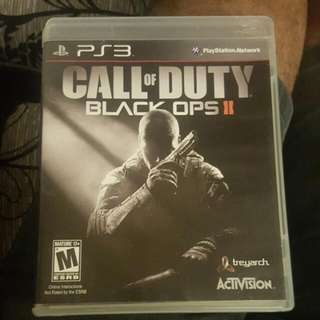 Call For Duty Black Ops 2 For Ps3