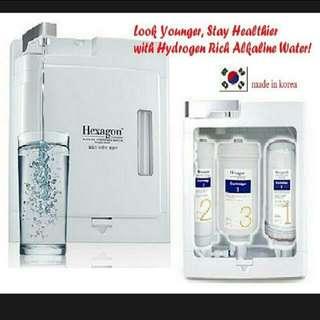 😃🔛🔜Hexagon Water Filtration System 2 😊🙌👍👍👍💧💧💧🌝 水机-韩国医生的发明,品牌与概念