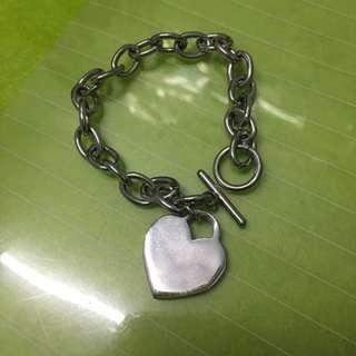 🚚 愛心 鎖鏈 手鍊 飾品 Love