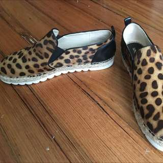 Nine West Leopard Espadrilles