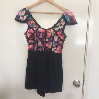 Shareen formal playsuit