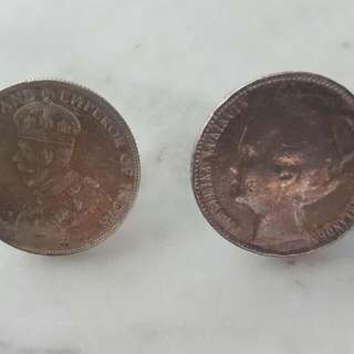 Vintage Peranakan Coin For A Chain